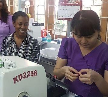 World Child Cancer Volunteer Shanice Brown Myanmar