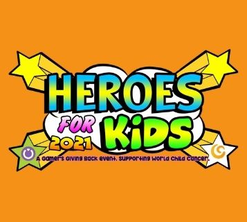 Heroes For Kids World Child Cancer Gamers Giving Back