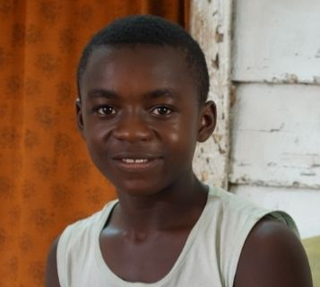 Young cancer patient survivor from Cameroon World Child Cancer