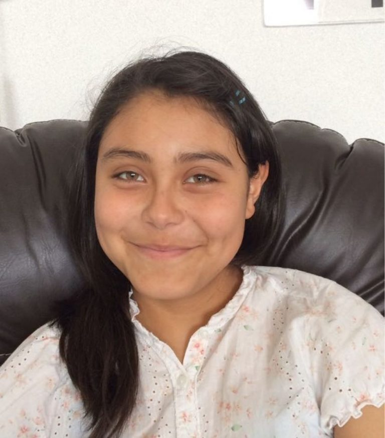 Young Female Cancer Patient World Child Cancer After Treatment