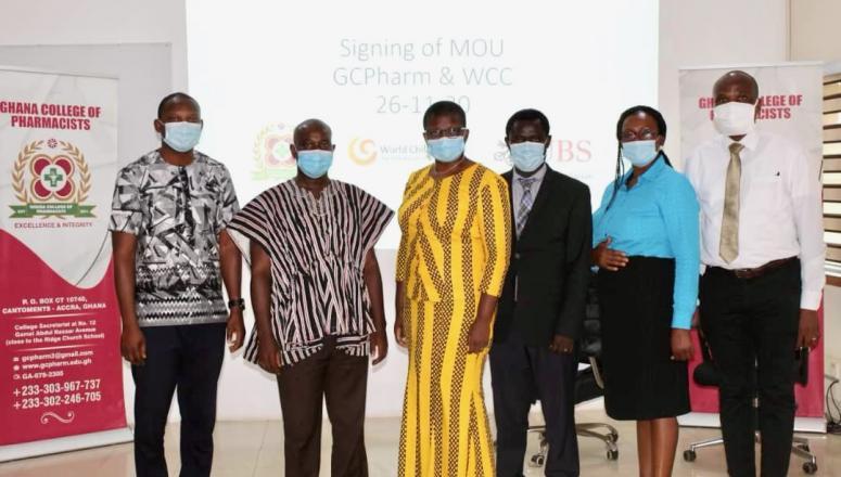 Ghana College of Pharmacy World Child Cancer