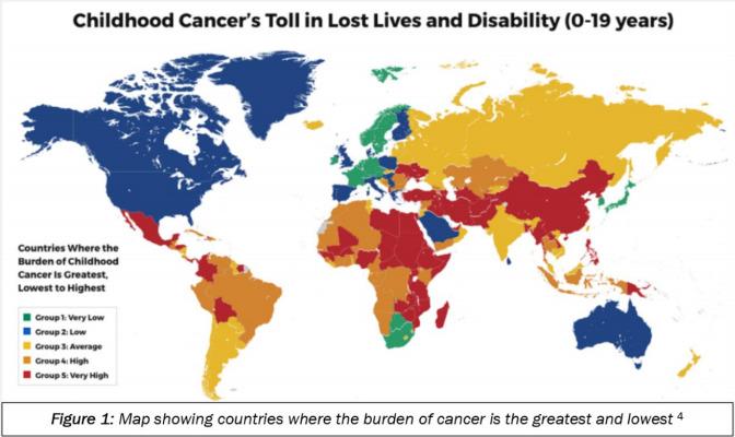 Sabrina Taylor Child Cancer's Toll World Child Cancer
