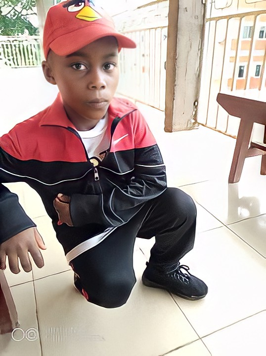 World Child Cancer patient boy from Cameroon