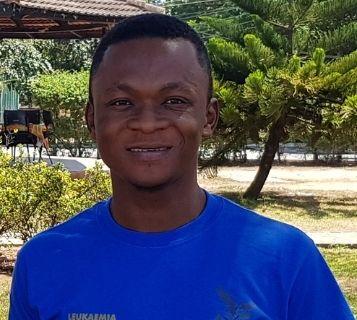 World Child Cancer survivor Prince in Ghana