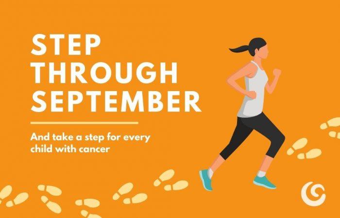 Step Through September 2021 World Child Cancer