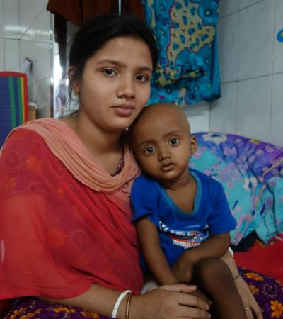 Bangladesh mum and baby