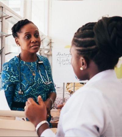 Dr Cathy Segbefia World Child Cancer